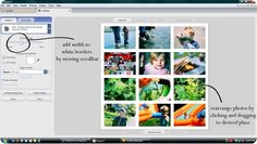 There's no fancy photoshop steps involved … just Google's pretty amazing free photo-editing software called Picasa.