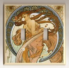 Art Nouveau interiors by Angela Rainsberger on Etsy
