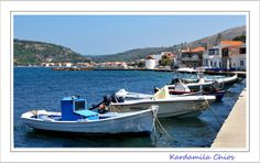 Kadramyla, Chios By Maria Varipati