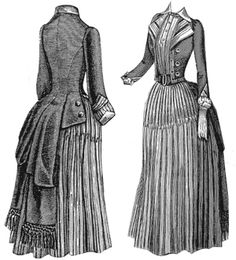 1889 Dress & Directoire Jacket