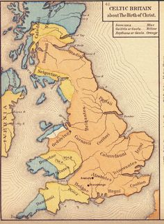 Celtic Britain around the time of Christ History Of England, Uk History, Roman History, British History, Ancient History, History Facts, Strange History, Tudor History, History Channel