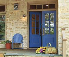 All About Fiberglass Entry Doors - Molded fiberglass panels and simulated divided lights can capture the look of wood French doors. Similar to shown: Prehung, factory-finished European ¾ Light double door, 96 inches tall, about $2,800; pella.com