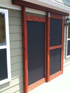 diy screen door sliding screen doors