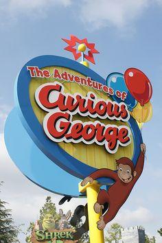 Curious George-Universal Studios-California