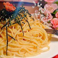 本日の夕飯。コレステロールにまみれるぜ! - 31件のもぐもぐ - ★たらこスパゲッティ★ by BLUEZ33
