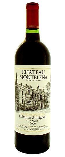 """2000 Chateau Montelena """"Estate"""" Napa Valley Cabernet Sauvignon"""