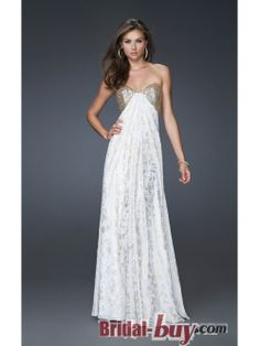 Buy Custom Made High Quality Elegant Princess Empire Sweetheart Sequins Long Lace Prom Dress/Evening Dress ED-9479 at wholesale cheap prices from Bridal-Buy.com
