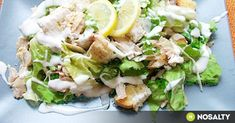 Joghurtos cézár saláta parmezánnal recept képpel. Hozzávalók és az elkészítés részletes leírása. A joghurtos cézár saláta parmezánnal elkészítési ideje: 20 perc Salad Recipes, Diet Recipes, Healthy Recipes, Eat Pray Love, Lettuce, Cobb Salad, Potato Salad, Meal Prep, Sandwiches