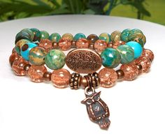 Hey, I found this really awesome Etsy listing at https://www.etsy.com/listing/191037484/owl-bracelet-bohemian-bracelet-owl