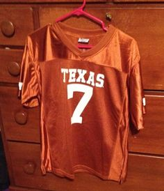 Texas Longhorns Boy's Football Jersey.  Size 16/18.    NWOT #ProEdge #TexasLonghorns
