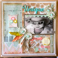 Bow & Arrow- layout - Adriana Bolzon #kaisercraft Scrapbook Blog, Baby Scrapbook, Scrapbook Paper Crafts, Scrapbooking Layouts, Scrapbook Cards, Bow Arrows, My Design, Projects To Try, Sketches