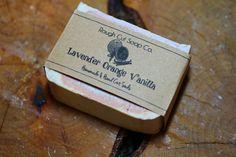 Lavender Orange Vanilla Cold Process Soap