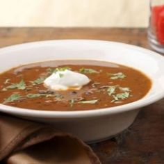 Eat Clean Recipe: Black Bean Soup - Thin and Strong