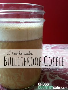 I have joined the fad…I am officially in love with Bulletproof coffee, have you tried it yet?