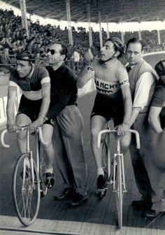 ......Vigorelli & Fausto Coppi on Milan Velodrome!
