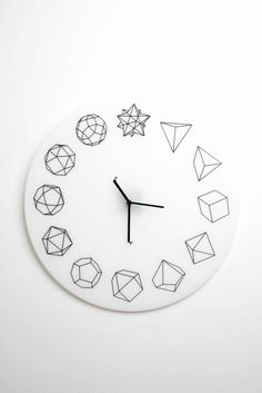 #Clock ~ with geometry