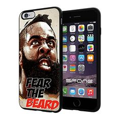 """NBA Basketball Player James Edward Harden, Jr. Houston Rockets, Cool iPhone 6 Plus (6+ , 5.5"""") Smartphone Case Cover Collector iphone TPU Rubber Case Black Phoneaholic http://www.amazon.com/dp/B00WFPHAZ6/ref=cm_sw_r_pi_dp_UpNpvb09R0G20"""