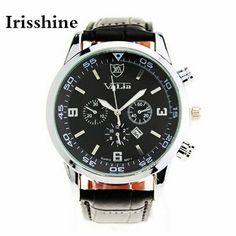 $5.51 (Buy here: https://alitems.com/g/1e8d114494ebda23ff8b16525dc3e8/?i=5&ulp=https%3A%2F%2Fwww.aliexpress.com%2Fitem%2FIrisshine-i0666-brand-luxury-Men-watches-montre-homme-Quartz-Business-Men-s-Military-Auto-Date-Leather%2F32753245032.html ) Irisshine B08 brand luxury Men watches montre homme Quartz Business Men's Military Auto Date Leather Watches Wholesale for just $5.51