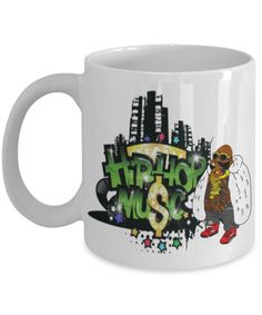 This item is unavailable Hip-Hop Music - Coffee or Tea Mug - perfect mug that people will LOVE, and they'll see it every morning when they make their cup of coffee. Perfect Image, Perfect Photo, Love Photos, Cool Pictures, Coffee Music, On The High Street, Inexpensive Gift, Novelty Gifts, Tea Mugs