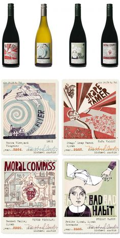 Cute labels for all our #wine loving #packaging peeps PD