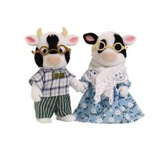 Sylvanian Families Friesian Cow Grandparents