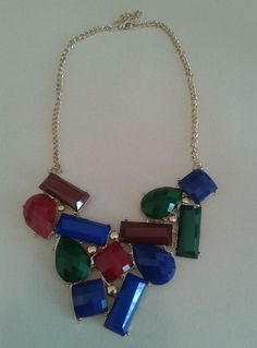 Colar Pedras Royal -- Acesse nosso site: http://debbysmendes.wix.com/sweetneon