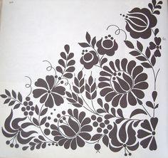 Венгерские народные мотивы: цветочный узор Калоча