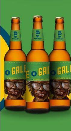 Cerveja Zé Galego, estilo Premium American Lager, produzida por Bastards Brewery, Brasil. 5.1% ABV de álcool.