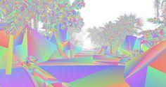 Gradient Forest, un proyecto de Vince McKelvie.