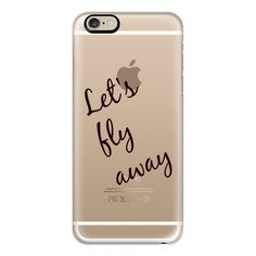 Let's fly away! Travel - iPhone 7 Case, iPhone 7 Plus Case, iPhone 7... ($40) ❤ liked on Polyvore featuring accessories, tech accessories, iphone case, slim iphone case, iphone cases, iphone cover case and apple iphone cases