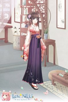 Anime Kimono, Anime Dress, Anime Outfits, Girl Outfits, Samurai, Fantasy Dress, Fantasy Clothes, Elegant Dresses For Women, Cute Dolls