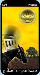 Patience is not your enemy... Knight of Pentacles  For more insight into today's care, visit: www.tarotlifecoach.com
