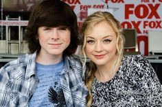 I don't want to ship my bæ but if u think about it, they are pretty cute. Carl + Beth =Barl