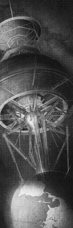 Benjamin Ruswick. [ Thesis ] M.Arch // C.A. Denari's Inverted Observatory | SUPER//ARCHITECTS