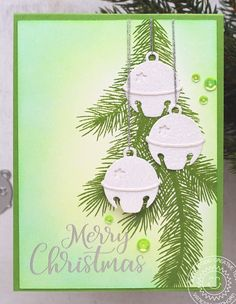 Chrismas Cards, Stamped Christmas Cards, Beautiful Christmas Cards, Christmas Card Crafts, Beautiful Handmade Cards, Christmas Cards To Make, Christmas Bells, Xmas Cards, Handmade Christmas