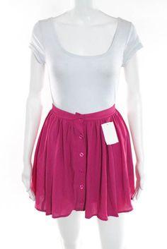 Black 14, 10 Cream Red 12 8 New Skater Mini Skirt Royal Blue