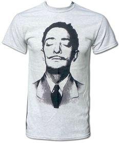 Salvador Dali Cool Retro Unisex Pop Art T Shirt - Graphic Tees For Men & Women