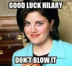 """A """"Good Luck"""" Meme for Hillary Clinton that Conservatives can Support"""