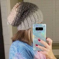 Crochet Hat Pattern Womens Hat Mens Hat How To Crochet | Etsy Slouchy Beanie Pattern, Crochet Slouchy Hat, Knitted Hats, Crochet Hats, Lion Brand Wool Ease, Crochet Hat For Women, Flap Hat, News Boy Hat, Easy Crochet Patterns