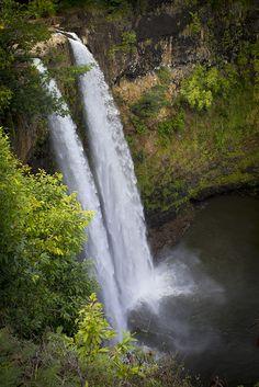Wailua Falls - Kauai, Hawaii