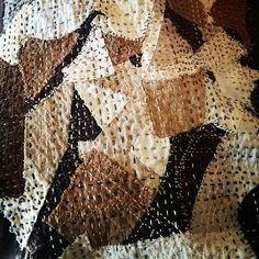Finally finished stitching. #sashiko #boro #handemade