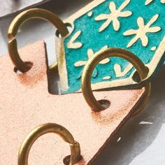 Brass and chevron and copper and teal. Made in India. Copper, Brass, Fair Trade Fashion, Chevron, Teal, India, Instagram Posts, How To Make, Rajasthan India