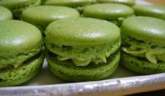 Matcha macarons | Recetas Japonesas en español!