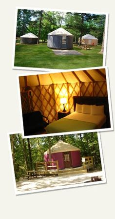 Stay in a Yurt - Pine Mountain GA Resort - RVC Outdoor Destinations