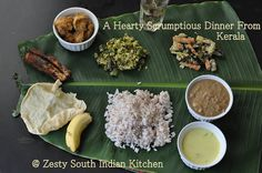 Zesty South Indian Kitchen: Taking a Culinary Travel to Gods Own Country: Kerala, South India