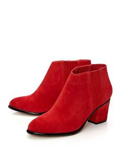 c8a960081b947a Camper Karolina Red Ankle boots Women K400079-011 | Shoe game in ...