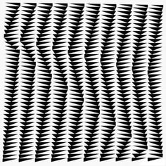 Bridget Riley's Op Art masterpiece, Shift, will feature in Sotheby's Contemporary Art Evening sale on 11 February. Victor Vasarely, Bridget Riley Op Art, Hayward Gallery, Computer Art, Museum Of Modern Art, Geometric Art, Geometric Patterns, Optical Illusions, Textures Patterns