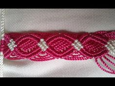 Macrame Square Knot Loops Bracelet with Beads (Tutorial). To make this bracelet you need know Square Knot and Larks Head Knot. This bracelet is not hard to m...