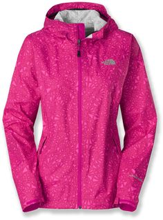 The North Face Bella Rain Jacket - Women\'s - 2013 Closeout North Face Rain Jacket, Rain Jacket Women, Outdoor Wear, Outdoor Outfit, Rei Clothing, North Face Women, The North Face, Vest Jacket, Hooded Jacket