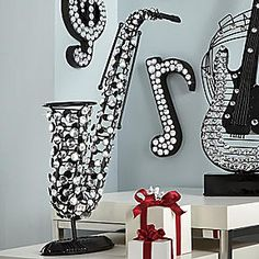 Music Decorations On Pinterest Music Decor Guitar And